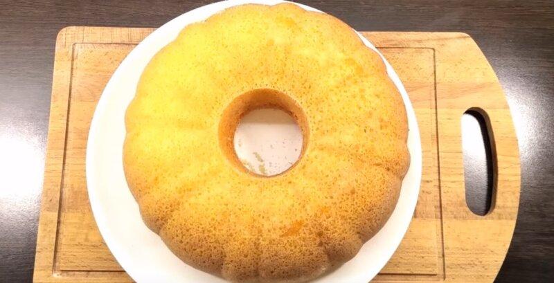 лимонно-творожный кекс