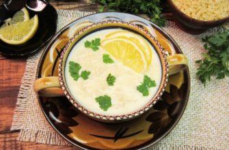 Греческий суп авголемоно рецепт