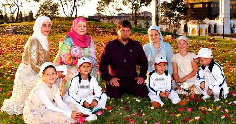 Дети Рамзана Кадырова – фото, сколько, семья .