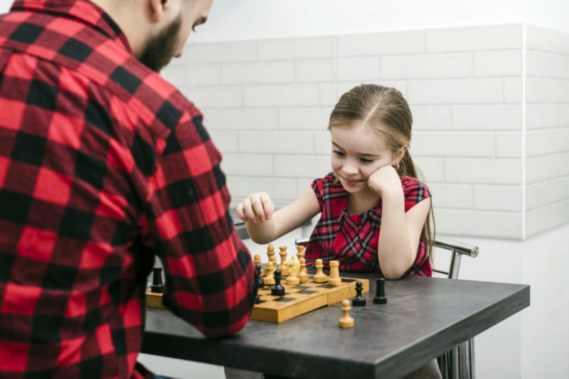 фото обучение шахматам