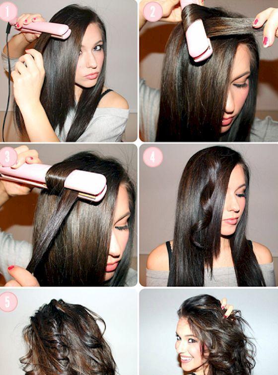 Накручивание волос стайлером