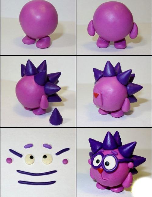 Фигурки из пластилина для детей. Легкие поделки для детского сада, детей постарше пошагово