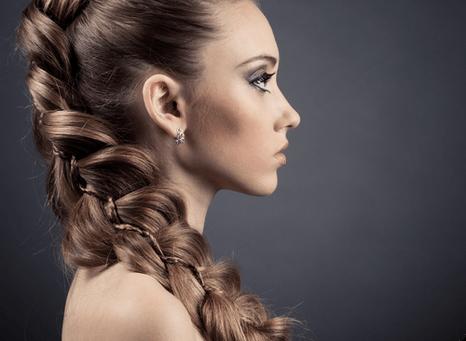 коса из хвоста