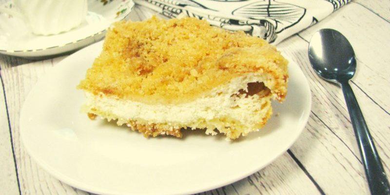 Пирог творожный Ленивая ватрушка рецепт пошаговый