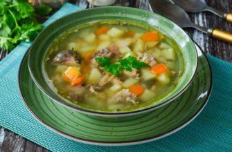 Суп из скумбрии рецепт