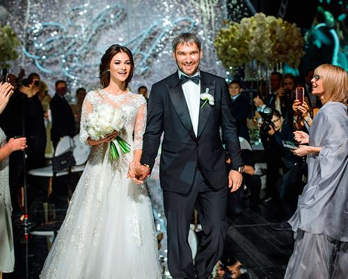 овечкин с невестой шубской