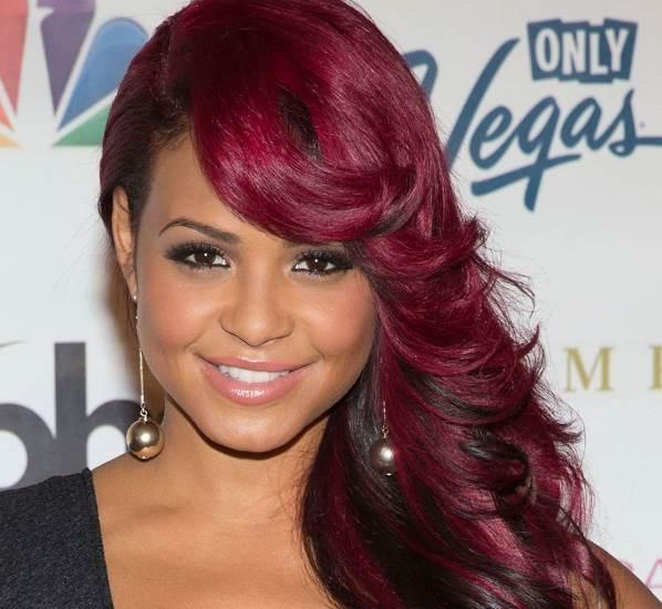 темно рубиновый цвет волос