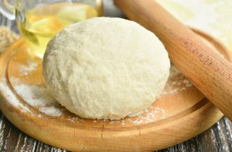 Тесто для беляшей на воде рецепт