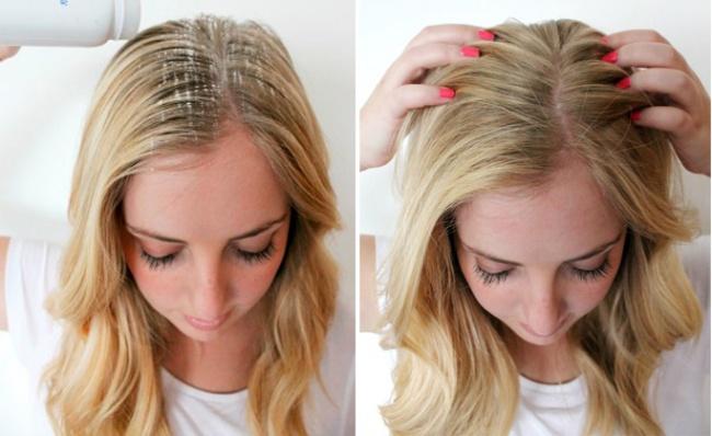 Преимущества пудры для волос