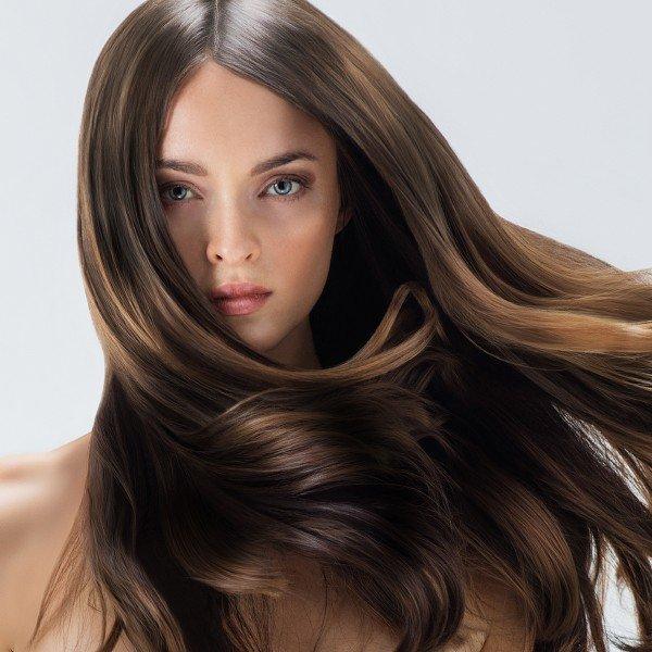 фото полировка волос
