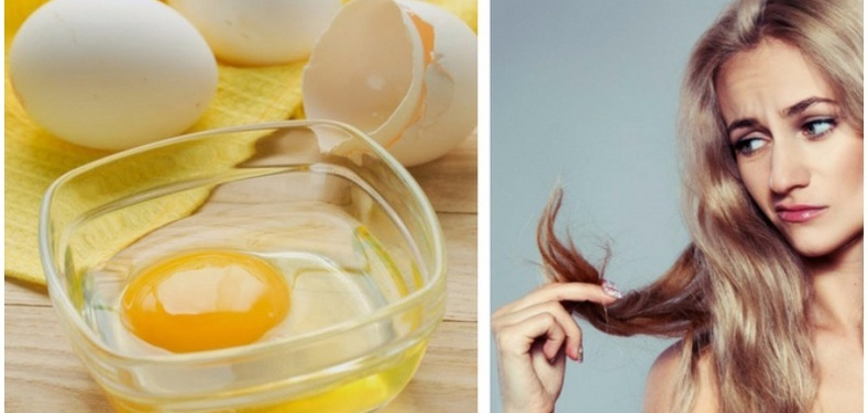 Яичные маски для сухих волос