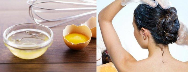 Как использовать маски из яиц для волос
