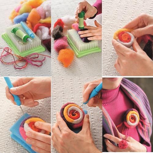 Как валять из шерсти для начинающих. Техники, игрушки, тапочки, одежда. Мастер-классы