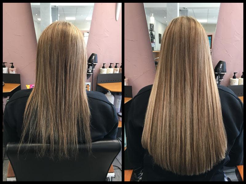 как нарастить волосы на лентах