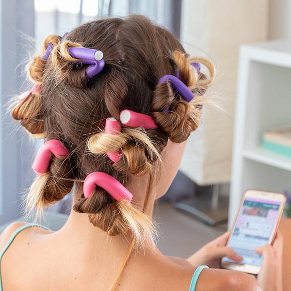 как завивать волосы на бигуди папильотки