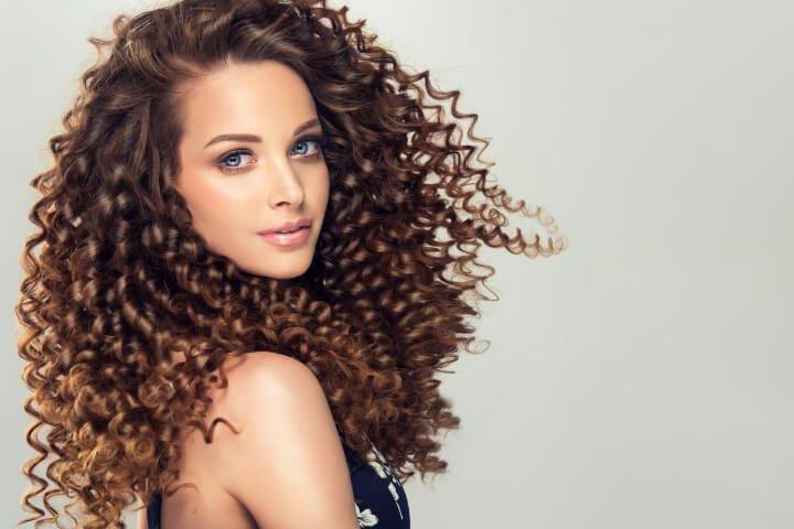 виды химии для волос