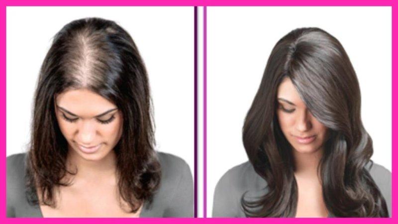 Волосы после использования средств
