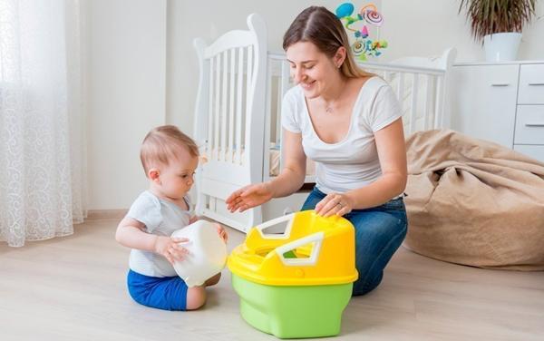 Примерный алгоритм приучения ребёнка к горшку