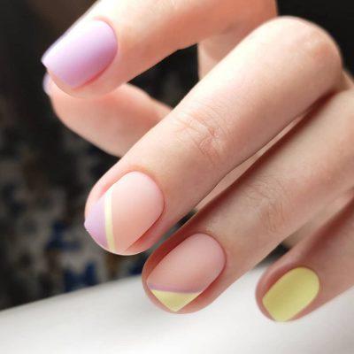 Новогодний маникюр 2020 для коротких ногтей: лучшие идеи