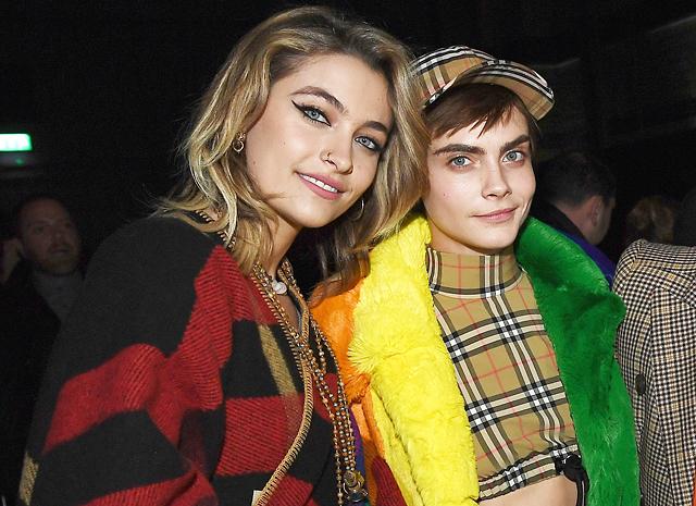 Кара Делевинь и ее девушка