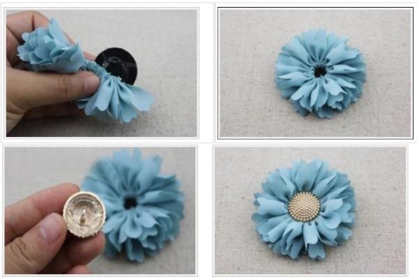 Резинки для волос своими руками из атласных лент, фоамирана, бантики. Мастер-класс с фото