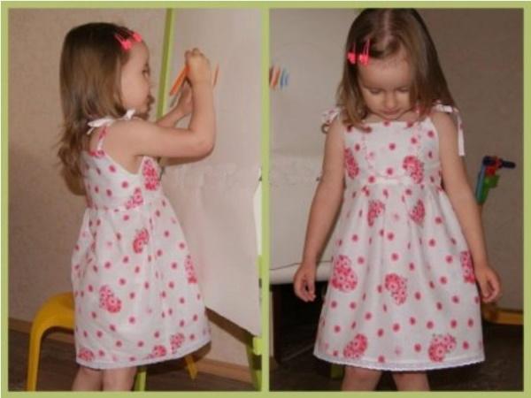 Шьем детям сами для девочек. Выкройки с размерами, новинки, инструкции