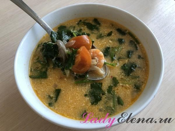 Суп том-ям в домашних условиях рецепт с фото