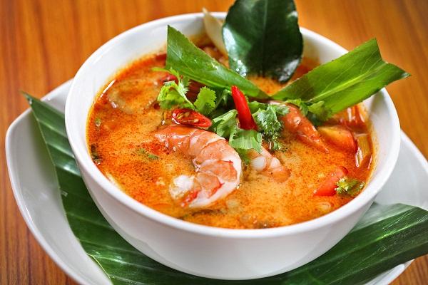 Суп том-ям с морепродуктами