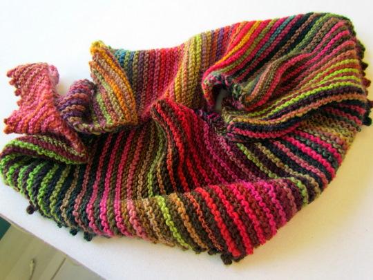 кариус вязаный платок