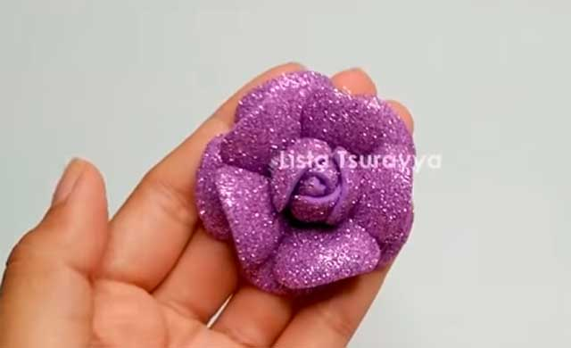фоамирановый цветок