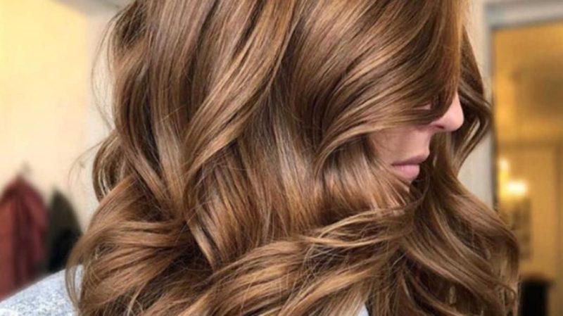 Колорирование волос- фото до и после