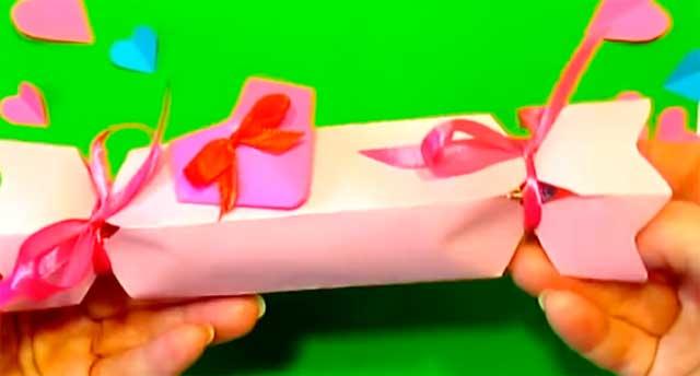 конфета поделка