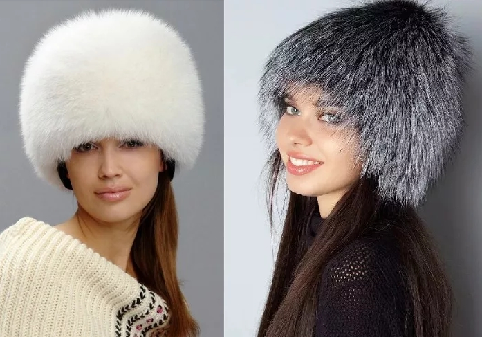 меховые шапки осень - зима 2019 - 2020