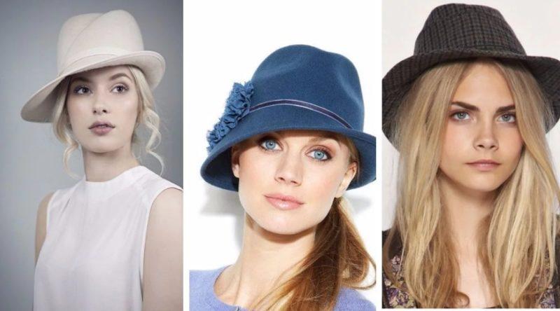 Женские шляпы осень - зима 2019-2020
