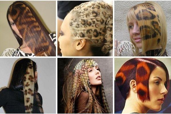 Технология окрашивания волос - футуаж