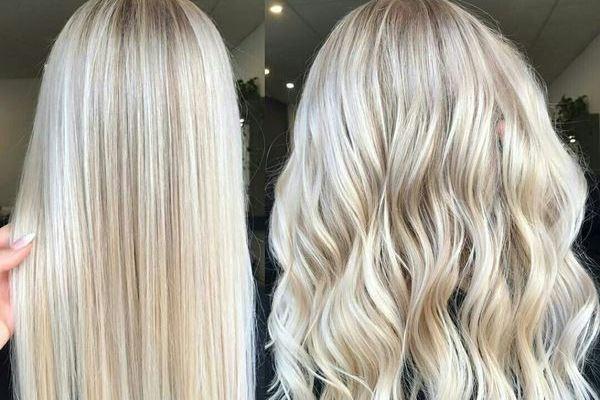 Сложное окрашивание длинных волос