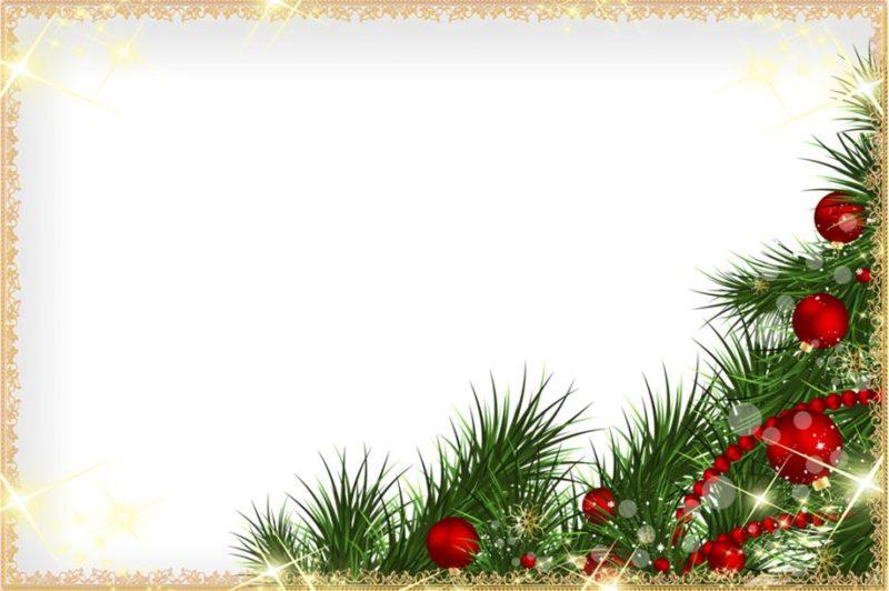 Открытки шаблон новогодний