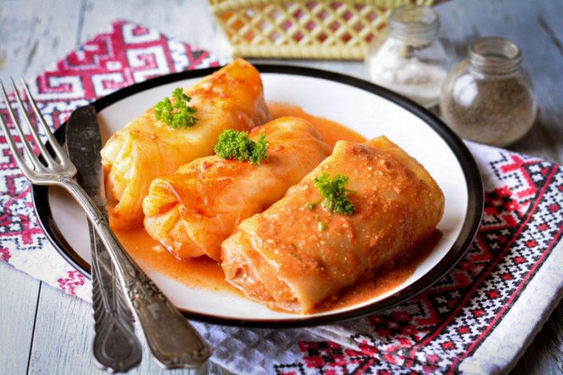 Сочные и ароматные голубцы с мясом и рисом