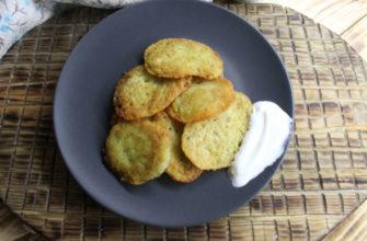 Украинские драники из картофеля
