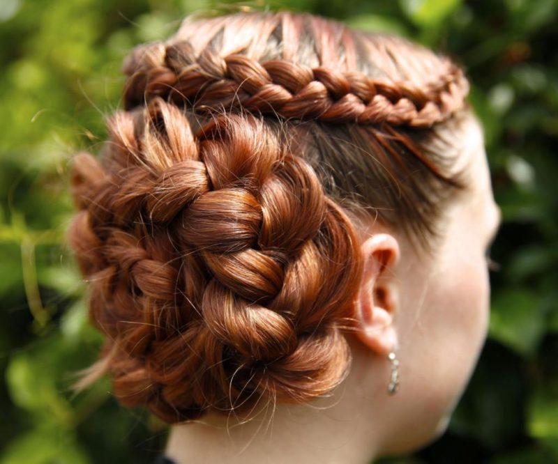 какую можно сделать прическу на средние волосы