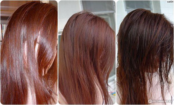 Частые окрашивания волос