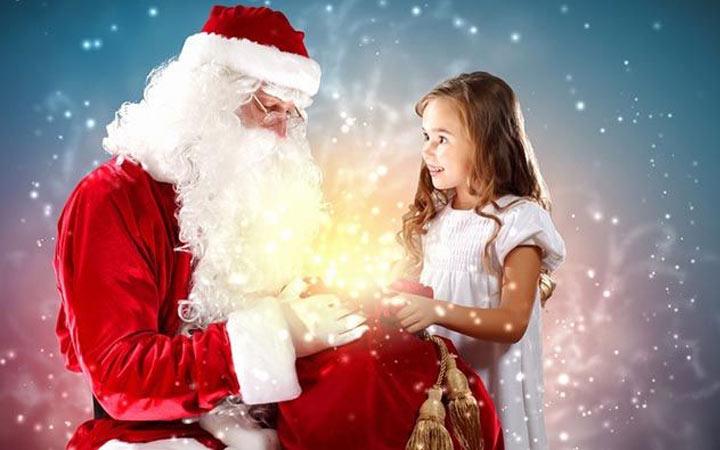 Поздравление для ребенка с Новым 2020 годом от Деда Мороза