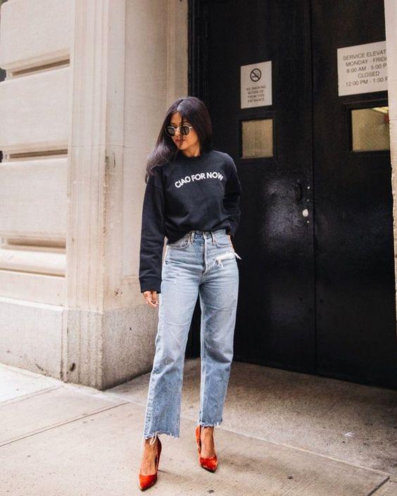 джинсы для типа фигуры прямоугольник 3