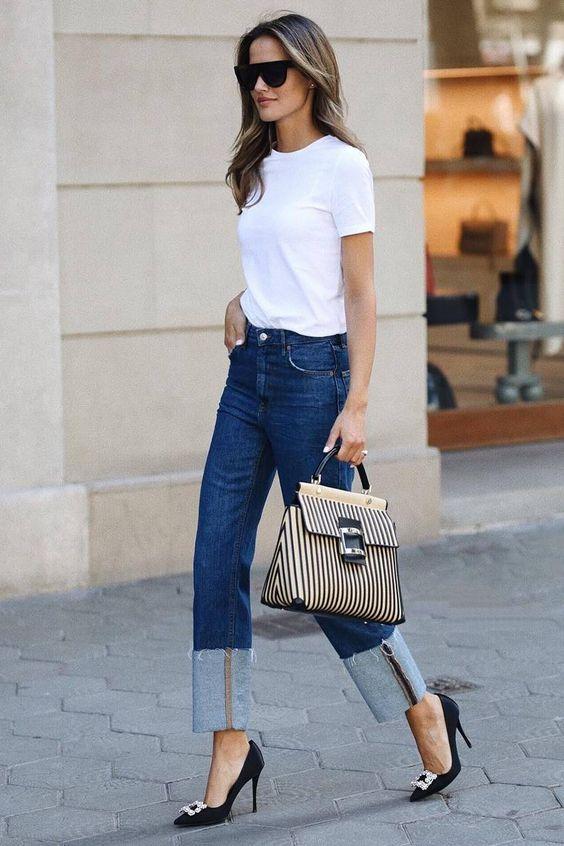 джинсы для типа фигуры прямоугольник 1