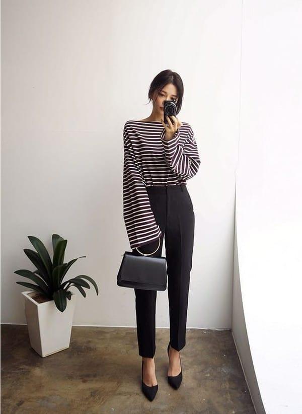 брюки для типа фигуры прямоугольник 3