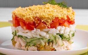 салат чудо без майонеза