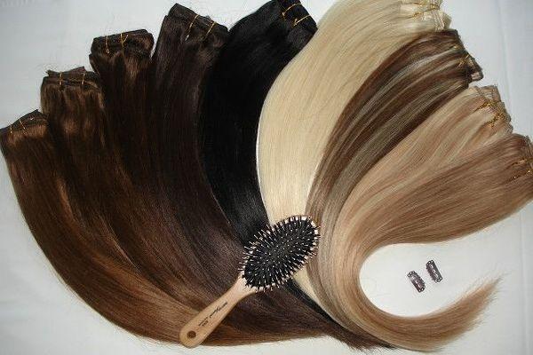 Правильный уход за накладными волосами