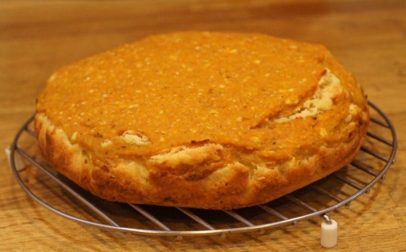 дрожжевой пирог из тыквы