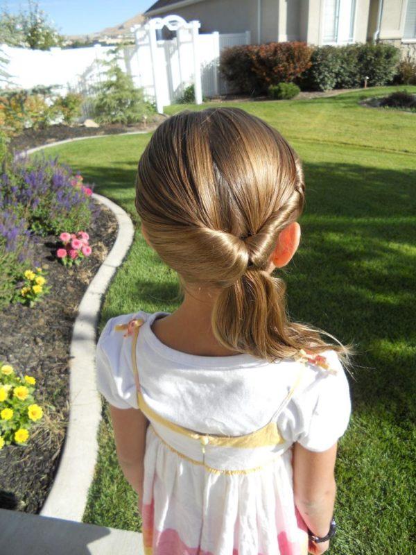 прически детские на длинные волосы