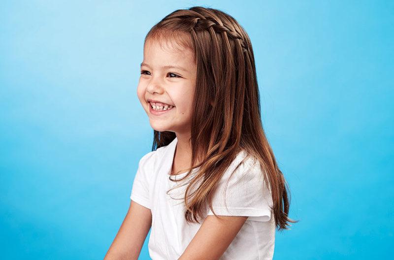 красивые детские прически на длинные волосы